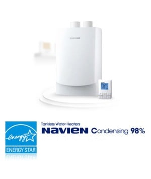 Navien Tankless Water Heaters Past and Present