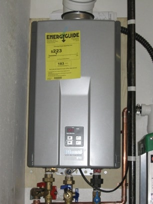 Instant heat hot water heater