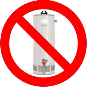 Will water heaters be banned