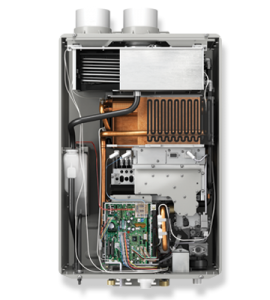 Inside a Rheem Tankless