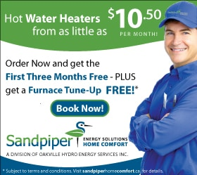 Water Heater Rental Promotion
