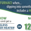 Tankless promotion