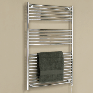 Chrome towel warmer