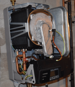 inside the eco king c100 combi boiler