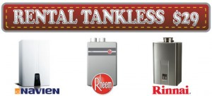 Rental a Tankless Water Heater
