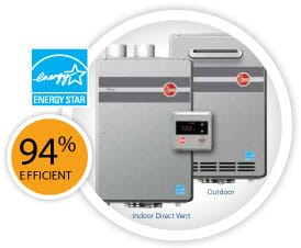 Tankless quotes rheem