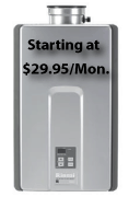 Rent a Tankless Water Heater