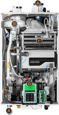 features of the new navien tankless